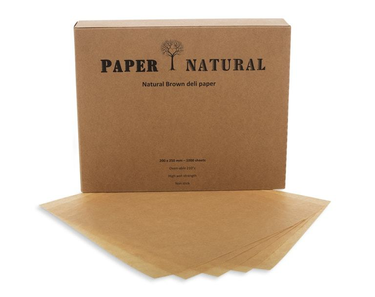 Natural Brown Deli Paper