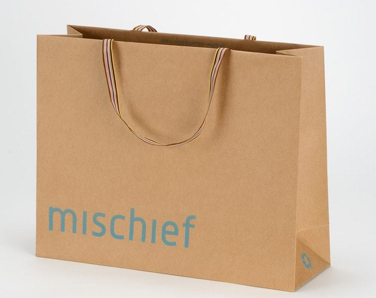 Brown Kraft Retail Paper Bag