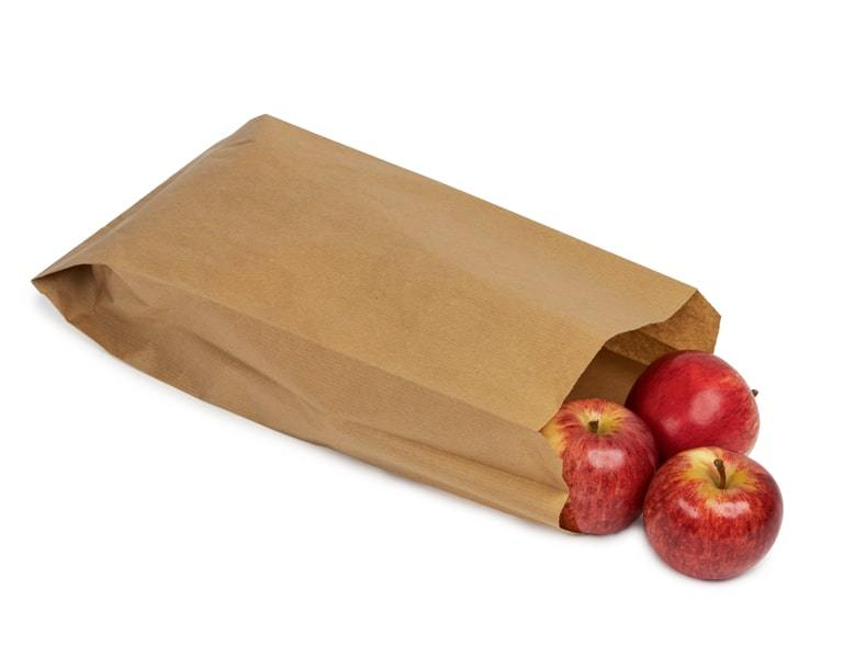 Wet Strength Produce Paper Bag